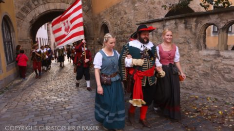 025A1227 2000px Oktoberfest parade in Rothenburg, Germany; copyright Christopher P Baker