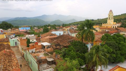 View over Trinidad from tower of Museo Historico, Trinidad, Cuba; copyright Christopher P Baker